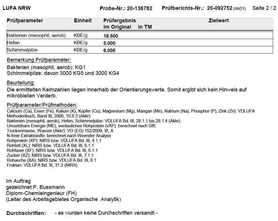Prüfbericht vom 26.11.2020 2/2